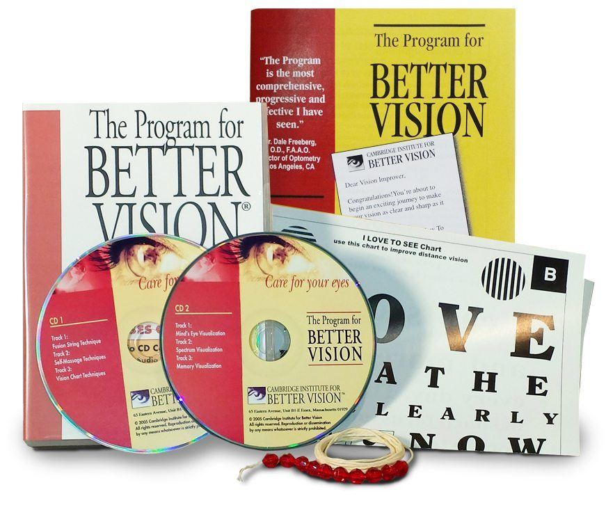 Program for Better Vision - Improve Your Vision Naturally With Eye Exercises